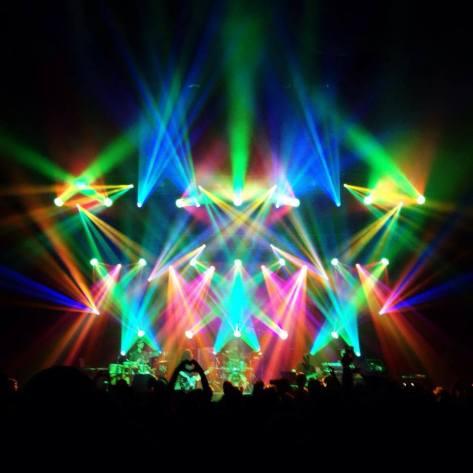 Light Show in Atlanta